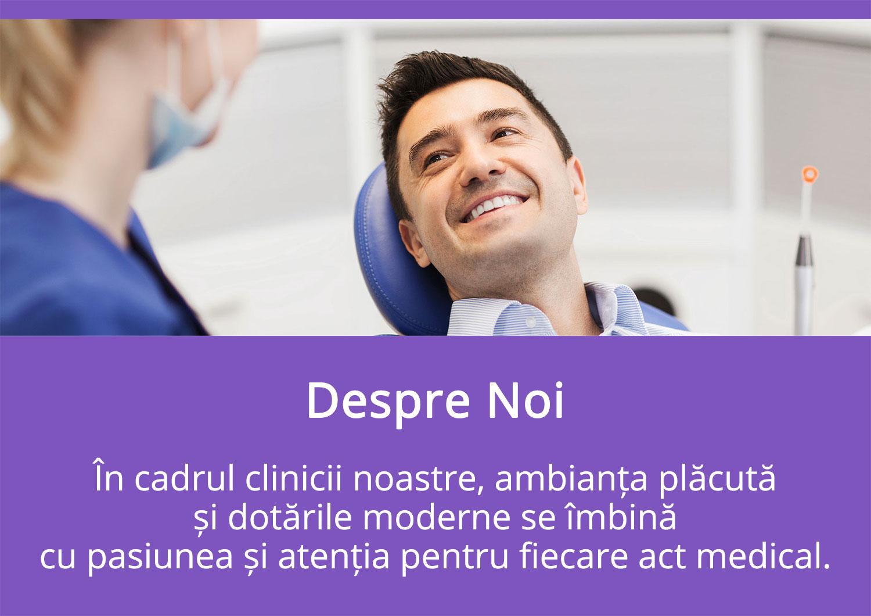 Despre Noi - Oferim Servicii Complete de Stomatologie - Diana Smile Clinică Stomatologică