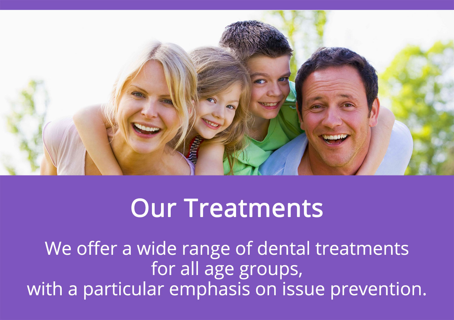 Our Treatments - Diana Smile Dental Clinic