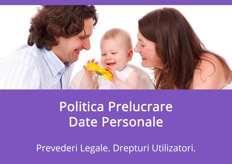 Politica Prelucrare Date Personale