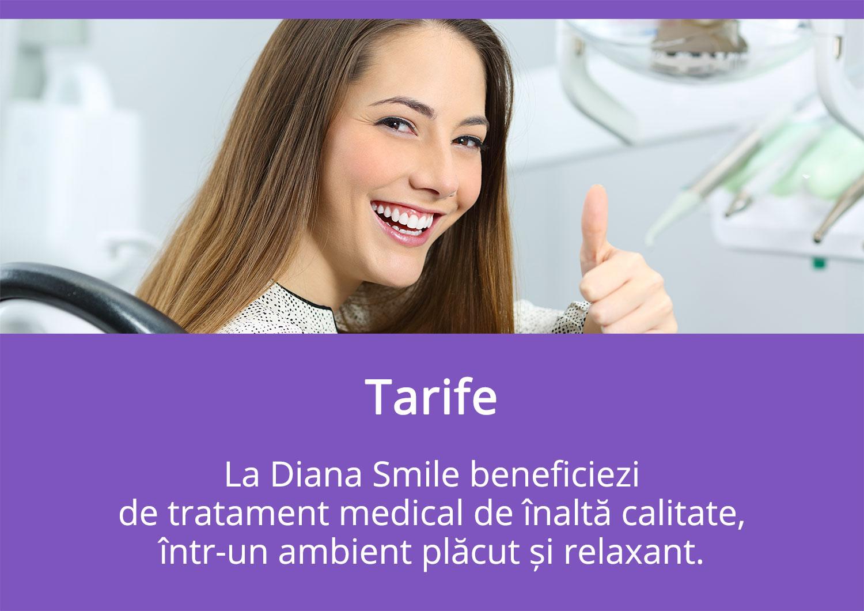 Tarife - Diana Smile Clinică Stomatologică