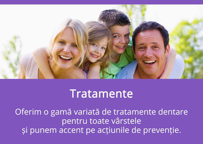 Tratamente - Oferim Tratamente Dentare Complete și Moderne - Diana Smile Clinică Stomatologică